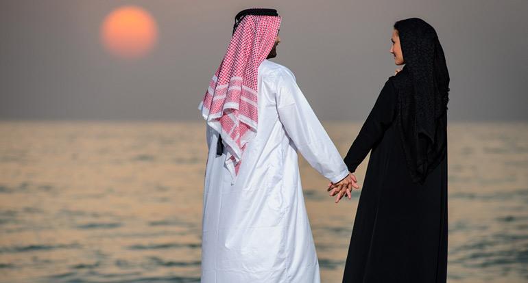 фотография местной свадьбы в ОАЭ